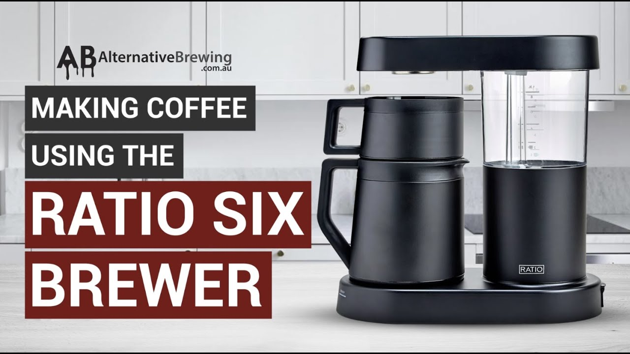 How to Brew Coffee Using the Ratio Six