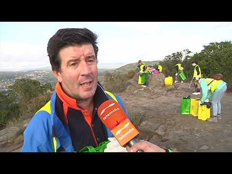Reportaje recogida de basura en Montealegre 13 11 19