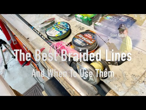 The Best Braided Fishing Lines & How To Use Them