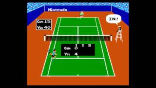 Tennis - tennis for nes 1 set playthrough 60 fps - User video