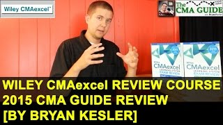 2015 full wiley cmaexcel review course   cma guide