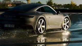 Porsche 911 Carrera S (992) Wet Mode demonstration