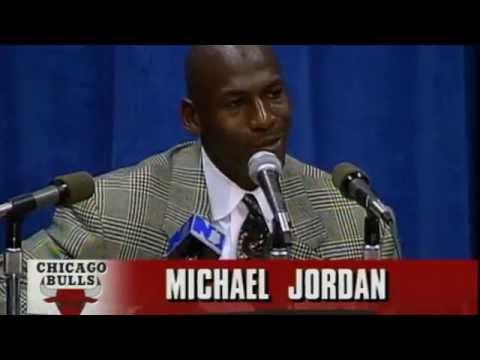 Throwback To Michael Jordan's Return