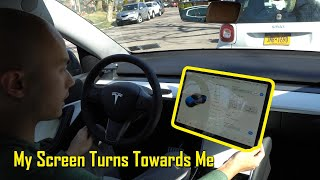 HACK Your Tesla Model 3/Y - Install A Swiveling Screen