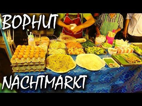 Nachtmarkt auf Koh Samui - Fisherman's Village - Thailand   VLOG #6