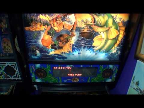 Fish Tails Pinball Machine By Williams 1992