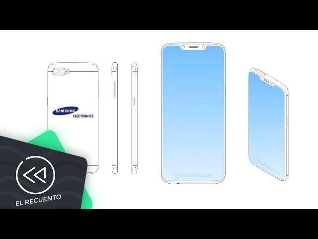 Samsung patenta un smartphone con notch   El recuento