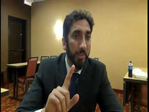 سیمین عمر با نعمان علی خان Nouman Ali Khan and Simin Omar