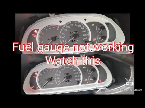 How to repair and calibrate fuel gas gauge mitsubishi lancer 1991-2000 and other cars