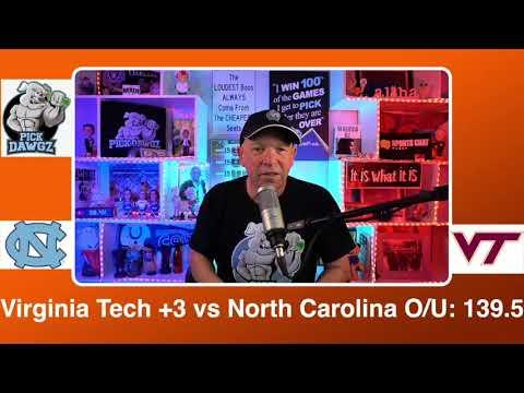Virginia Tech vs North Carolina 3/11/21 Free College Basketball Pick and Prediction CBB Betting Tips