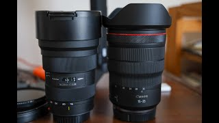 Tokina 16-28 vs Canon 15-35 RF. The cheapest vs most expensive