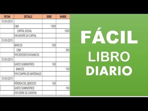 323f1dbd2d2c El Libro Diario - Contabilidad - YouTube
