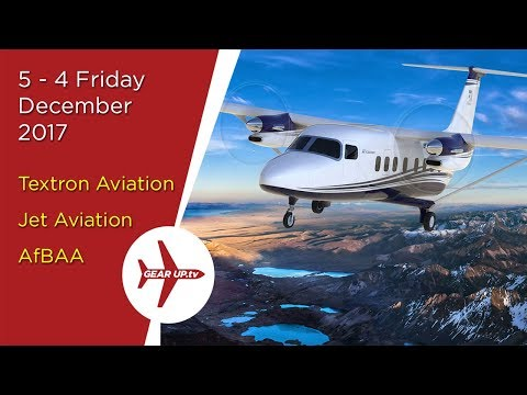 5-4 Friday: New Aircraft from Textron & Africa Rises! Textron,  Jet Aviation & AfBAA