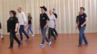 HALF A CHA Line Dance - danse et compte