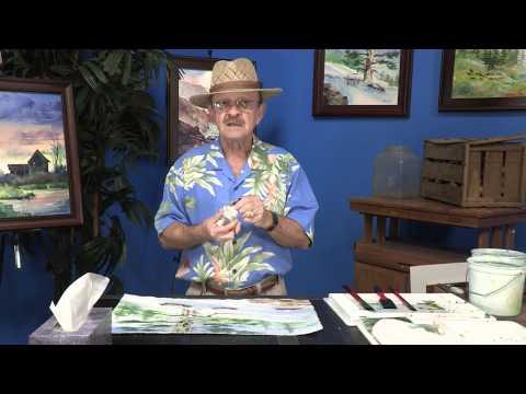 How to Paint Winter in Yellowstone in Watercolors w/ Tom Jones - JerrysArtarama.com