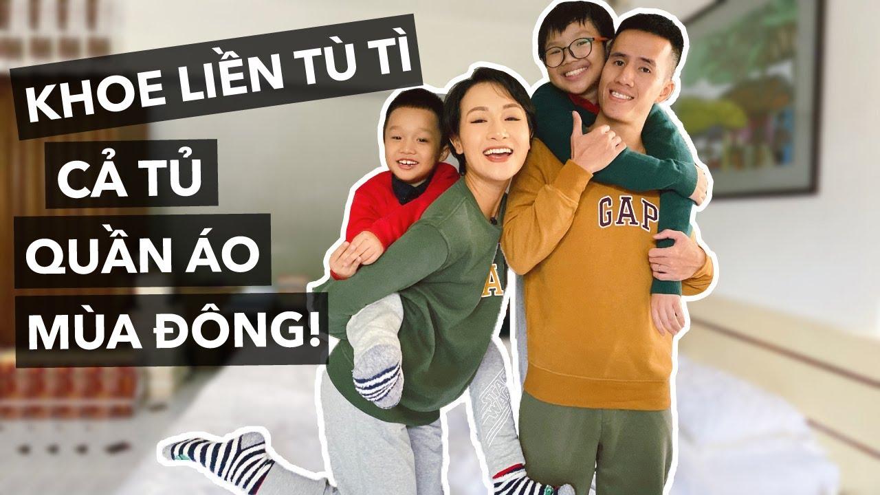 SẮM CẢ TỦ ĐỒ MÙA ĐÔNG MỚI! | Vlog | Giang Ơi