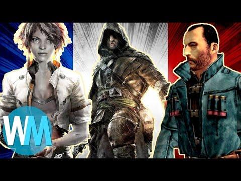 Top 10 des Jeux vidéos qui se déroulent en France !