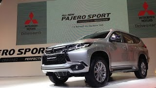 2015 All New Mitsubishi Pajero Sport World Premier : เปิดตัว มิตซูบิชิ ปาเจโร สปอร์ตใหม่