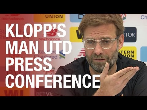 Jurgen Klopp's Pre-Manchester United press conference