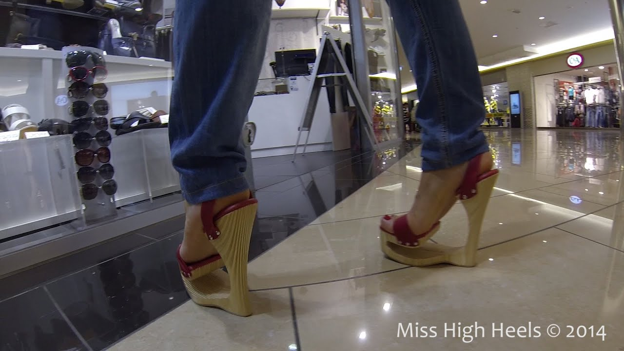 7 inch high heels - 3 4