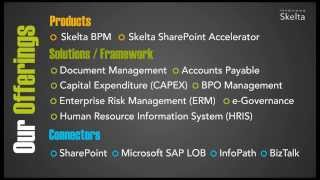 Wonderware skelta business process management (bpm) by schneider electric provides enterprises with a strong and collaborative platform that automates the se...