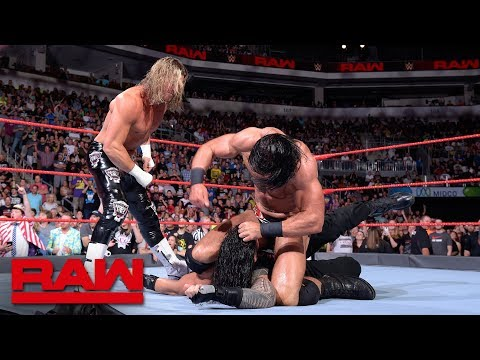 Dolph Ziggler & Drew McIntyre attack Roman Reigns: Raw, July 2, 2018