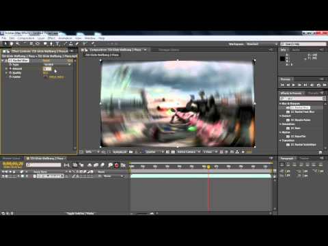 After Effects: Radial Blur Tutorial