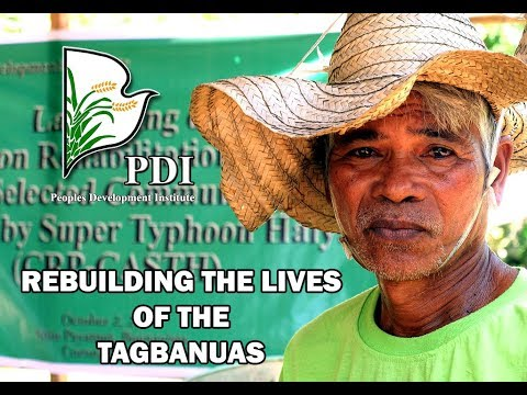 Rebuilding the Lives of the Tagbanuas