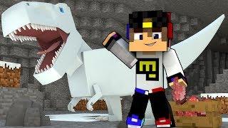 - Парк Юрского Периода мод Видео Выживание Майнкрафт ПЕ Minecraft PE для детей мультик игра и Дети