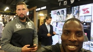 'TONY BELLEW TOLD ME I AM THE FUTURE OF THE CRUISERWEIGHT DIVISION' - LAWRENCE OKOLIE