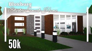 (40-60K) Budget NO GAMEPASS Modern House Speedbuild - Bloxburg ROBLOX