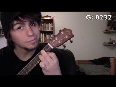 Ukulele: Easy beginner songs 3 - 4 chords, 9 songs (G)