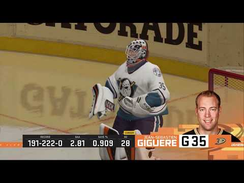 NHL 20 LA Kings Alumni vs Anaheim Ducks Alumni