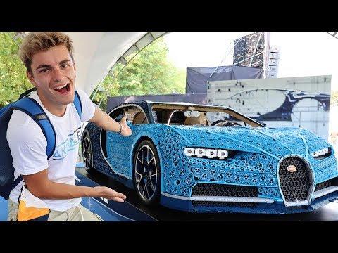 LA PRIMA MACCHINA LEGO FUNZIONANTE (Bugatti Chiron scala 1:1)