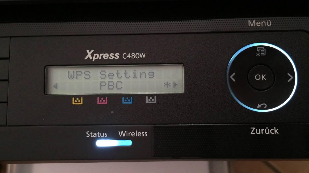 Samsung Express SL - C9W / TEG Laserdrucker, Kopierer, Scanner / print,  copy, scan