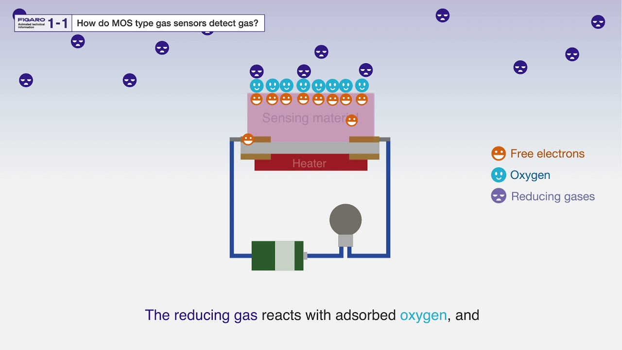 Learn about Gas Sensors by Animation