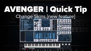 Avenger Tutorial: Change Skins [New in 1.1.0 Update]