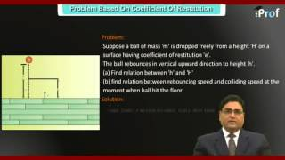 PROBLEM BASED ON COEFFICIENT OF RESTITUTION