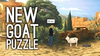 New Goat Puzzle in Broken Sword 5: The Serpent