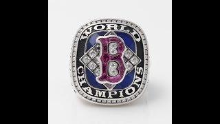 Boston Red Sox 2004 World Series MLB Championship Ring | thechampionrings.com