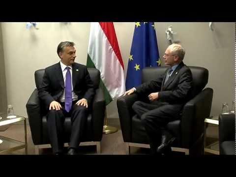 With Hungarian Prime Minister, Viktor ORBAN