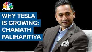 Tesla's growth is about renewable energy components, not electric cars: Chamath Palihapitiya