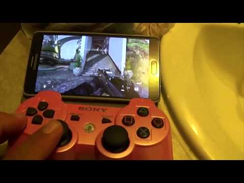 remote play on android (note 4) - YouTube