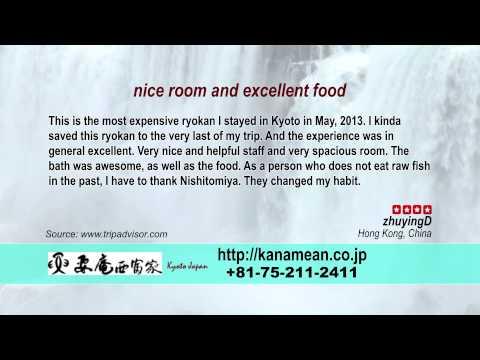 Kanamean Nishitomiya - REVIEWS - Kyoto Ryokan & Onsen Kyoto Reviews