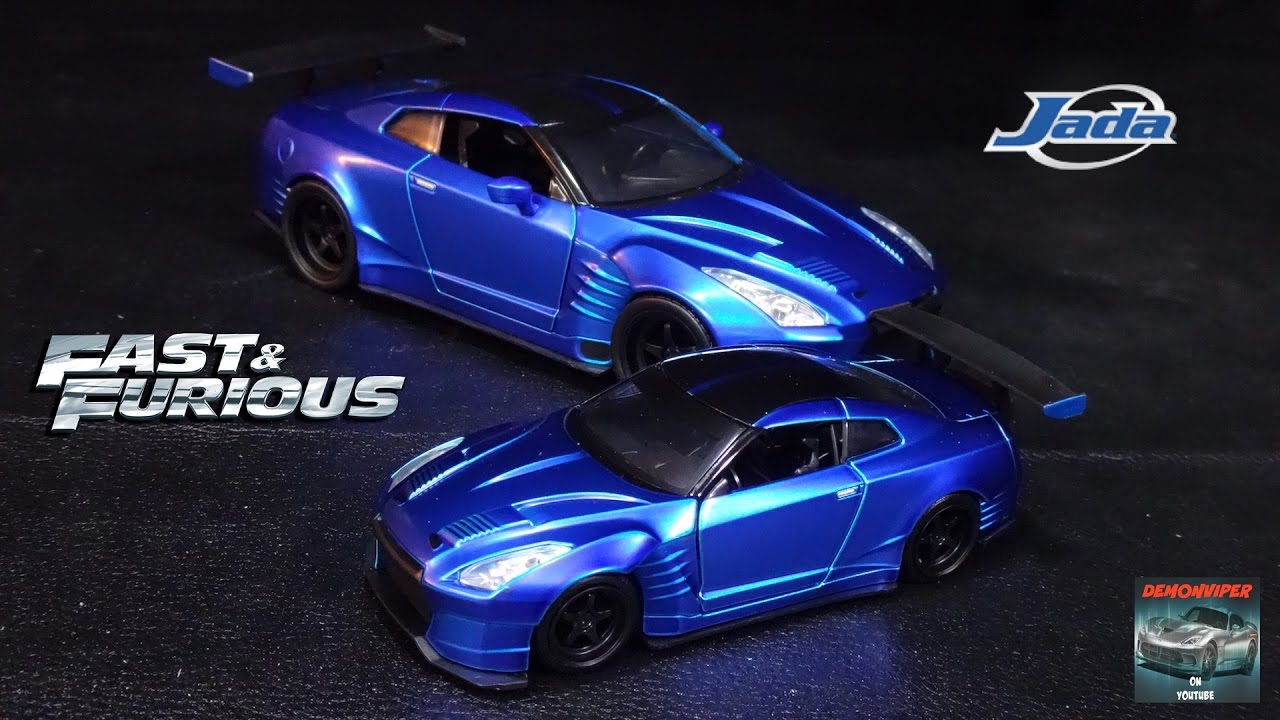 fast and furious 6 nissan gtr r35 ben sopra jada toys. Black Bedroom Furniture Sets. Home Design Ideas