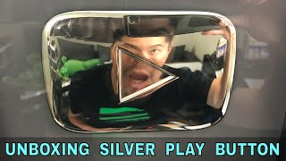 Unboxing My SILVER PLAY BUTTON (YouTube Creator Award)