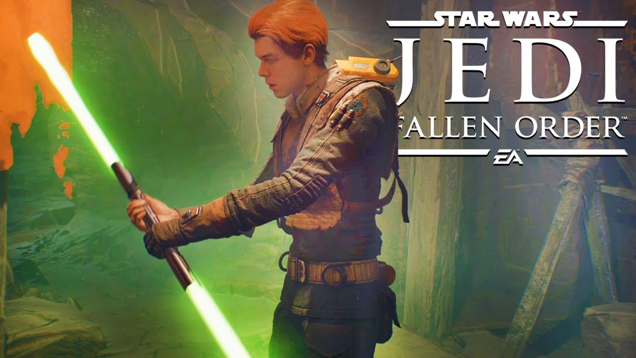 Star Wars Jedi: Fallen Order gameplay reveals double-bladed ...