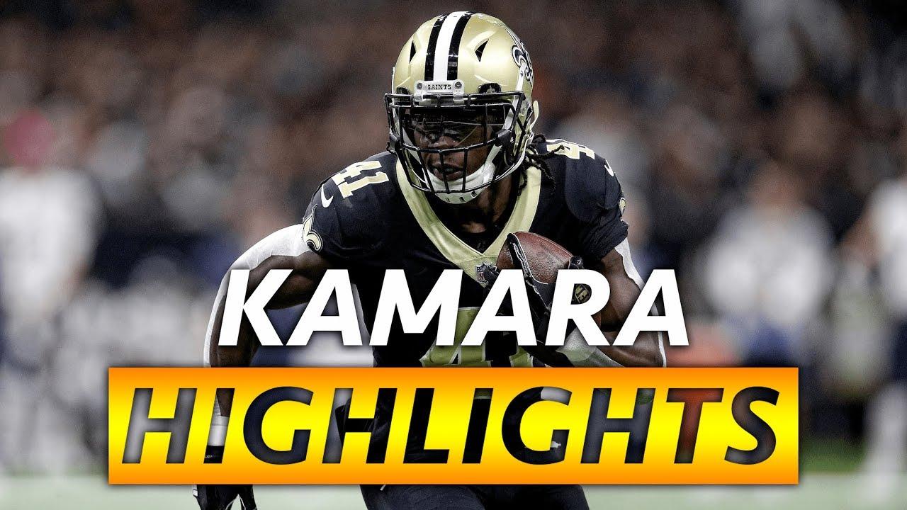 Alvin Kamara Highlights ⚜ Regular ...