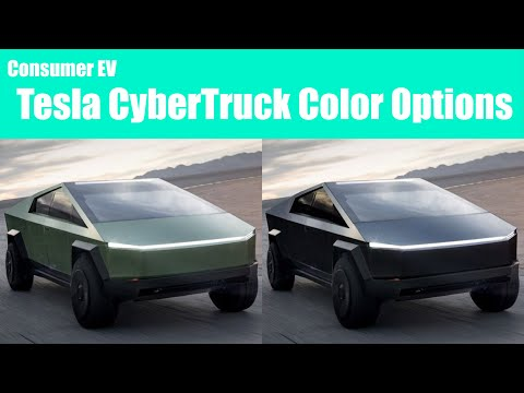 Tesla CyberTruck Review of Every Color