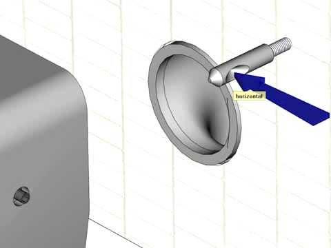 video de montage des fixations cachees des wc suspendus par allia